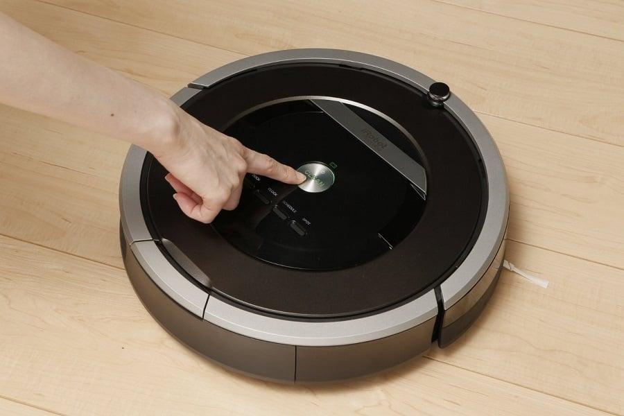 Sử dụng máy hút bụi Irobot Roomba dễ dàng