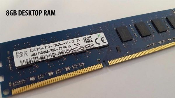 RAM Desktop DDR3 Hynix 8GB Bus 1600