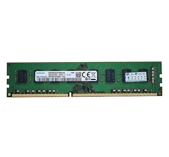 RAM Desktop DDR3L Samsung 8GB Bus 1600