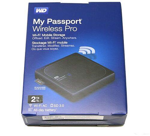 Ổ cứng di động gắn ngoài không dây WD Wireless Pro