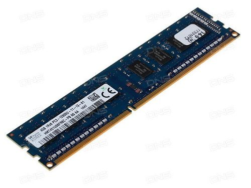 RAM Desktop DDR3 Hynix 4GB Bus 1600