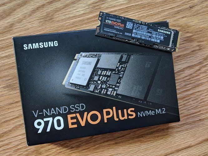 Ổ Cứng SSD Samsung 970 EVO Plus