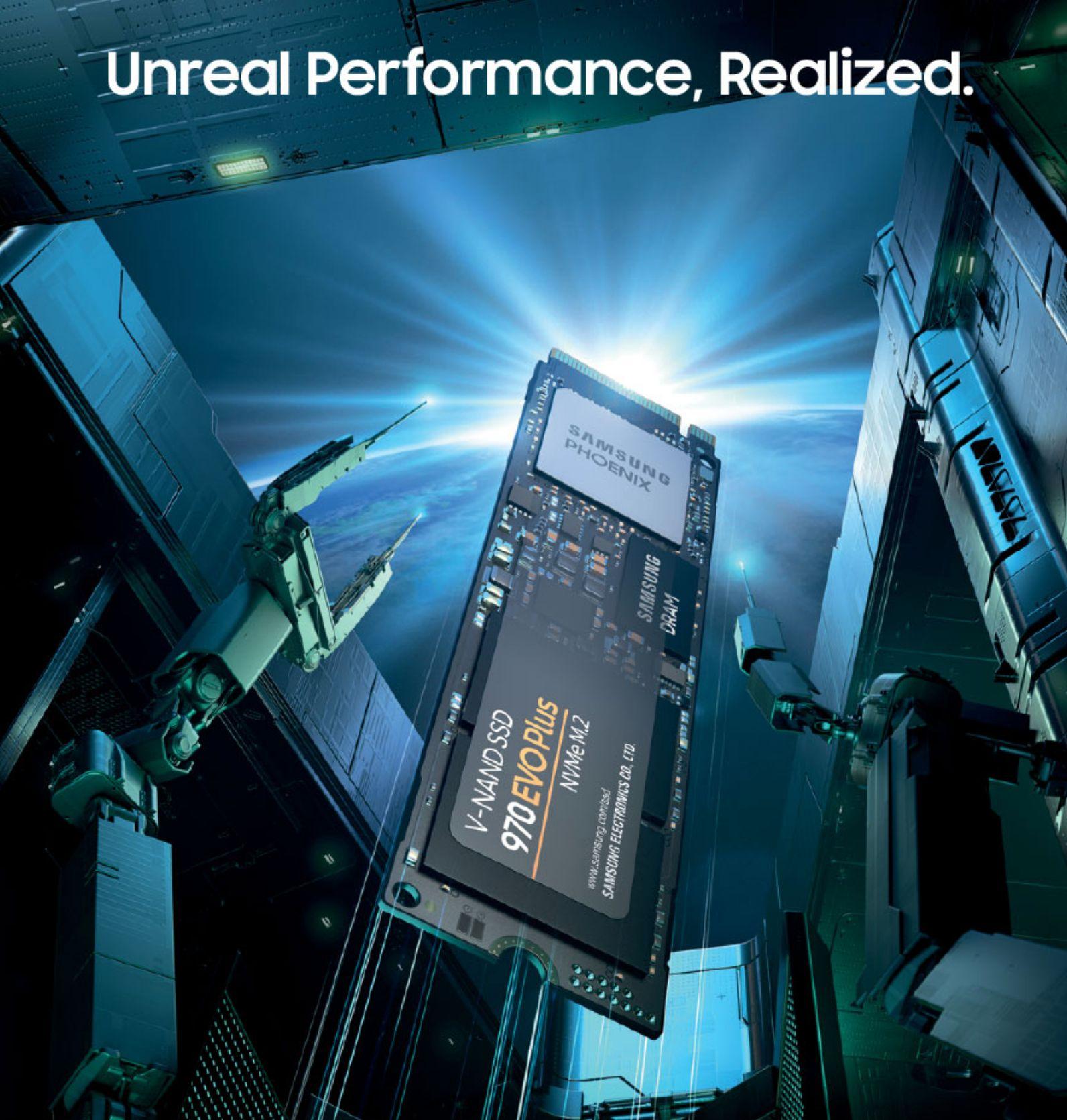 SSD Samsung 970 Evo Plus M2 PCIe 2280 - 500GB