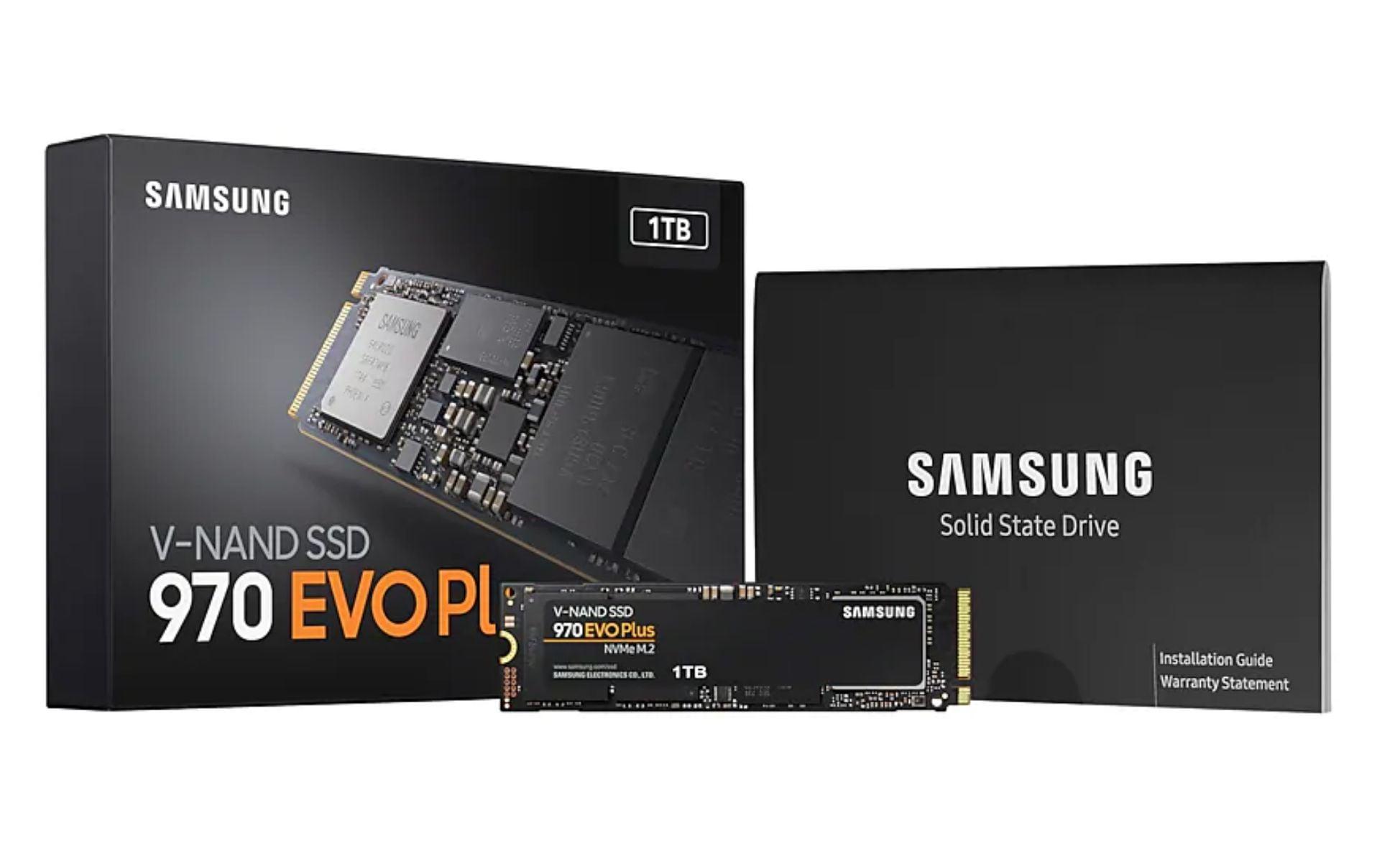 SSD Samsung 970 Evo Plus M2 PCIe 2280 - 1TB