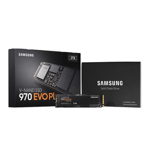 SSD Samsung 970 EVO Plus 2TB M2 2280 MZ-V7S2T0BW