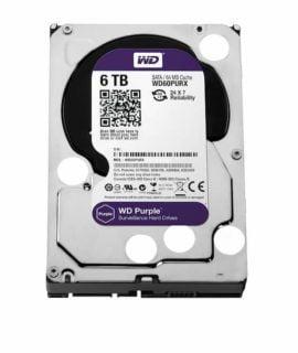 Ổ Cứng HDD WD Purple 6TB Chính Hãng Giá Rẻ HCM