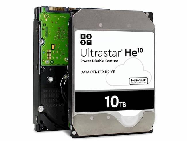 WD Ultrastar 10TB Chính Hãng