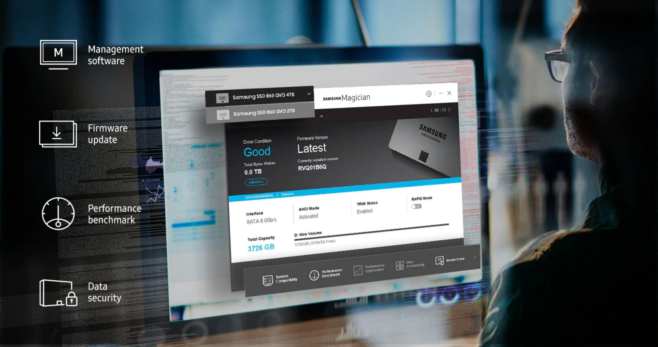 SSD Samsung 860 EVO 2TB M2 2280 6GB/s MZ-N6E2T0BW