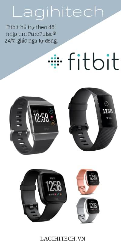Vòng Tay Sức Khoẻ Fitbit