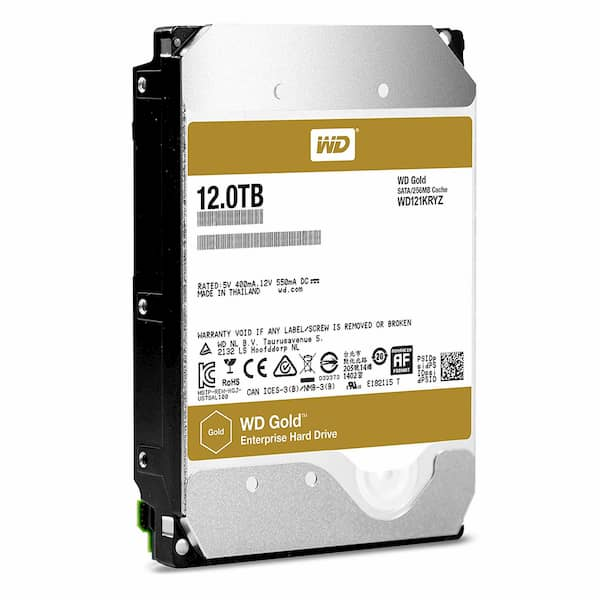 Ổ Cứng Enterprise WD Gold 12TB