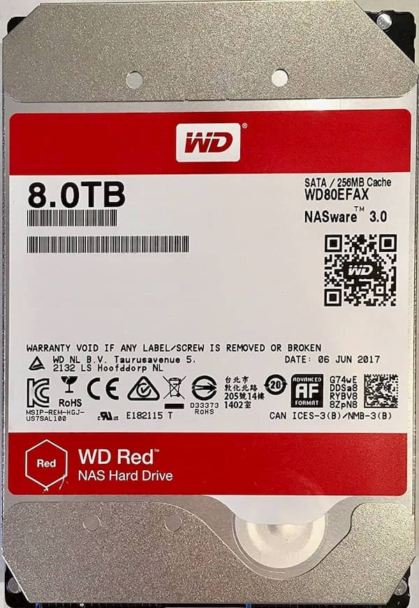 Ổ Cứng WD Red 8TB Giá Rẻ HCM