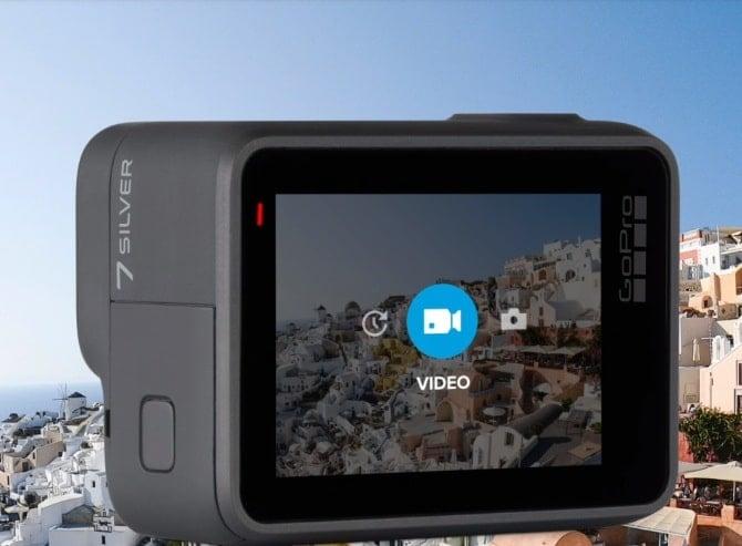 Máy ảnh GoPro Hero 7 Silver Chính hãng