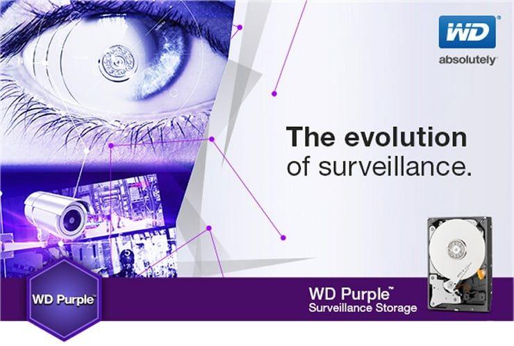 Ổ Cứng WD Purple 10TB