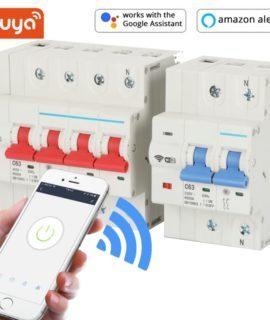 Aptomat Cầu Dao Tổng Điều Khiển Qua Wifi