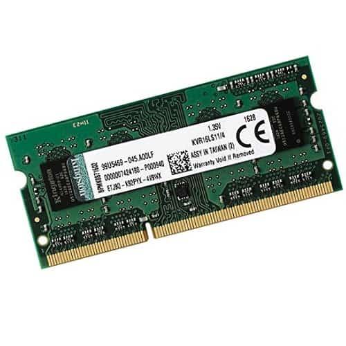 RAM Laptop DDR3L Kingston 4GB Bus 1600