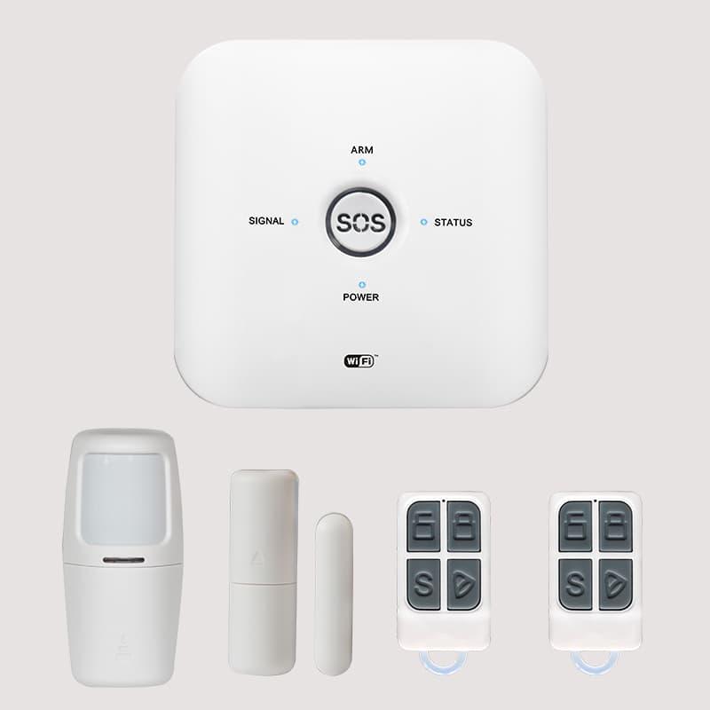 Thiet Bi Bao Trom Qua Smartphone GSM Wifi Tuya SHP-CK3