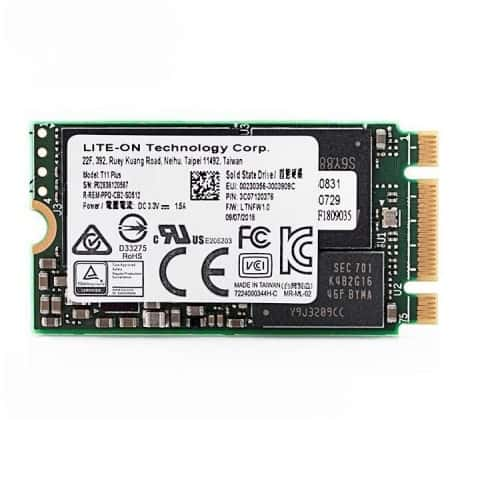 SSD LiteOn T11 Plus 128GB M2 2242