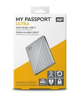 ổ cứng WD My Passport Ultra 2TB USB Type C