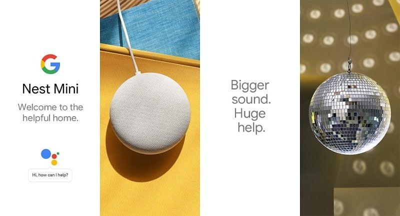 Loa thông minh Google Nest Mini Gen 2 Chính Hãng 1