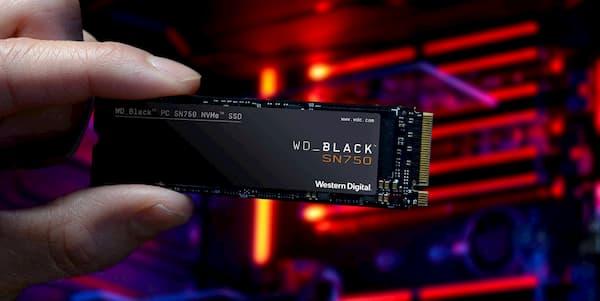 SSD WD Black SN750 1TB hinh 2