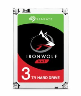 Ổ Cứng HDD Seagate Ironwolf 3TB 3.5 inch SATA iii ST3000VN007