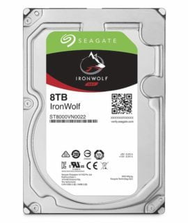 Ổ Cứng HDD Seagate Ironwolf 8TB 3.5 inch SATA iii ST8000VN0022