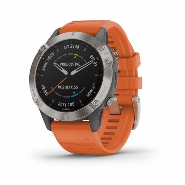 Đồng hồ thông minh Garmin Fenix 6 Sapphire5