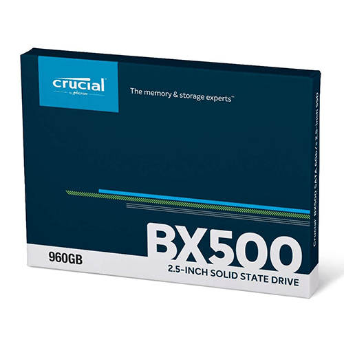SSD Crucial BX500 960GB 2.5 inch SATA iii 3D NAND CT960BX500SSD1
