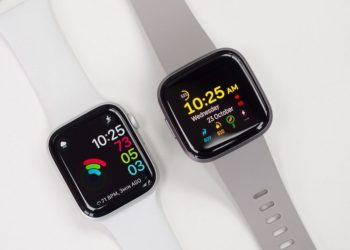 So sánh fitbit versa 2 apple watch series 5