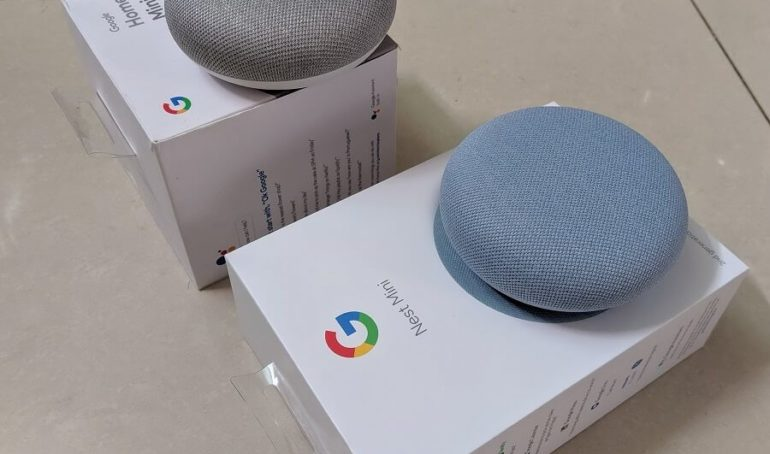 So sánh Google Nest Mini và Google Home Mini 2