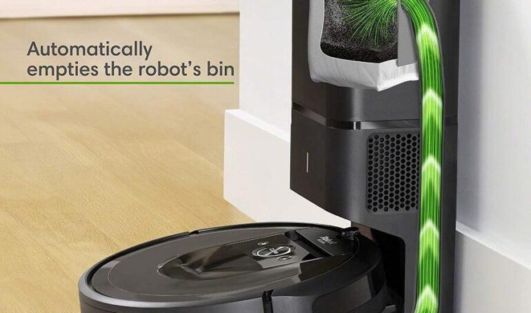 Đánh giá chi tiết Robot hút bụi iRobot Roomba i7 plus 1
