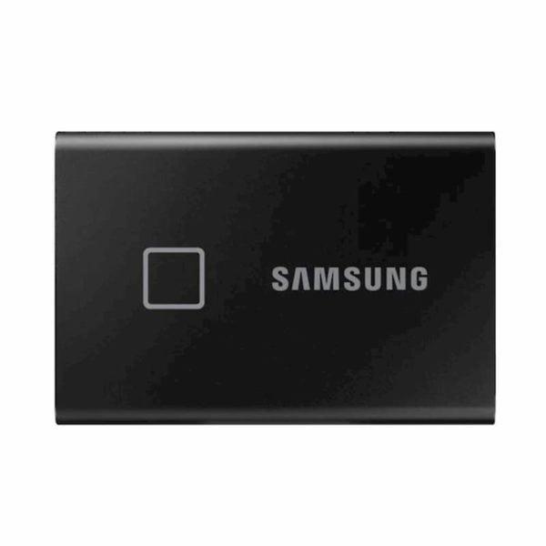 Ổ Cứng Di Động SSD Samsung T7 Touch 1TB USB Type C 3.2 Gen 2 MU-PC1T0K