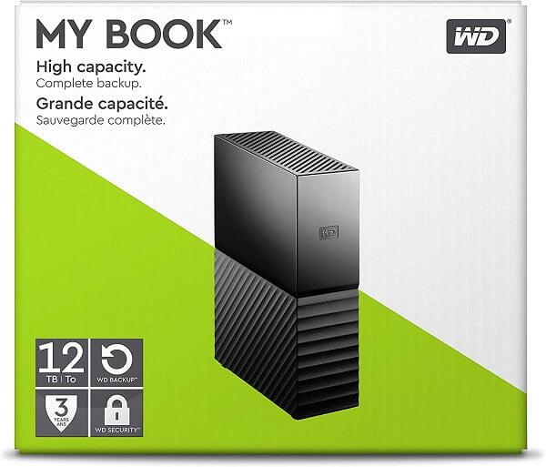 Ổ Cứng HDD WD My Book 12TB WDBBGB0120HBK Chính Hãng 5