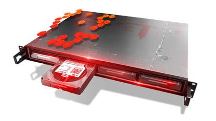 Ổ Cứng HDD WD RED 4TB WD40EFRX Chính Hãng 2