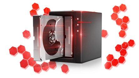 Ổ Cứng HDD WD RED 4TB WD40EFRX Chính Hãng 3