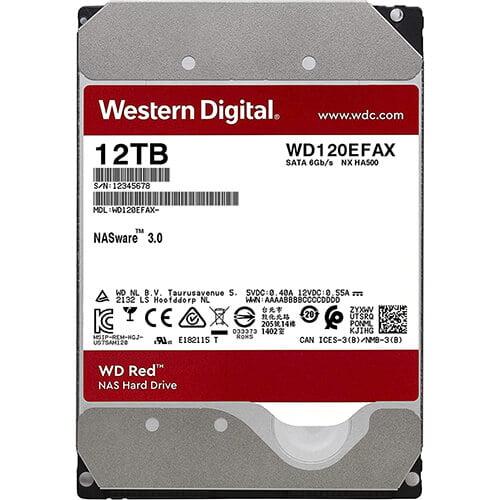 Ổ Cứng HDD WD Red 12TB WD120EFAX Chính Hãng 7