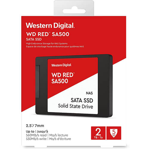 Ổ Cứng SSD WD Red SA500 2TB 2.5 inch SATA iii WDS200T1R0A 3