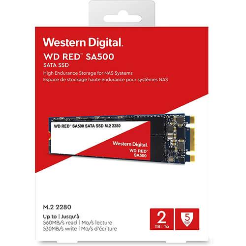 Ổ Cứng SSD WD Red SA500 2TB M2.2280 WDS200T1R0B 3