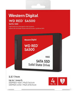 Ổ Cứng SSD WD Red SA500 4TB 2.5 inch SATA iii WDS400T1R0A 3
