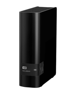 Ổ cứng để bàn HDD WD easystore Desktop Storage 10TB WDBCKA0100HBK 1