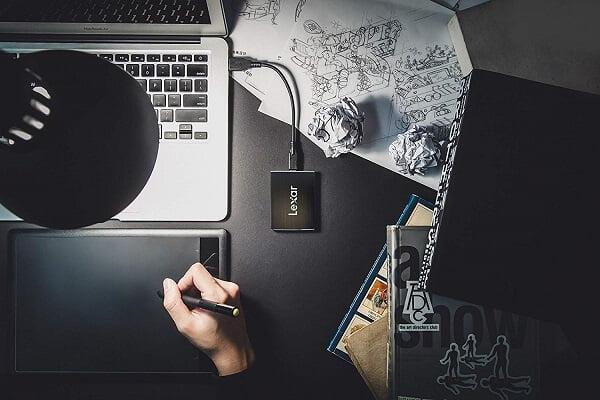 Ổ cứng di động SSD Lexar Professional SL100 Pro 1TB LSL100P-1TRB 5