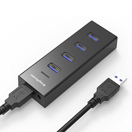 Bộ Chia USB Kingshare Type C Hub 4 Cổng USB 3.0 1