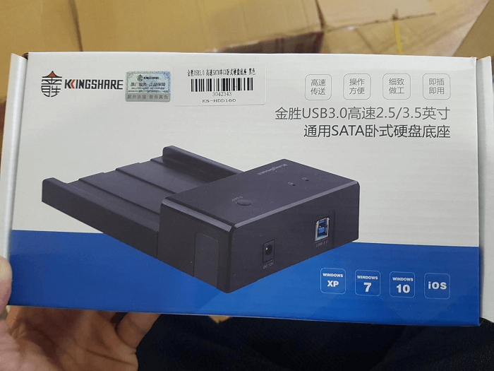 Dock chuyển ổ cứng KingShare HDDSSD to USB 3.0 3