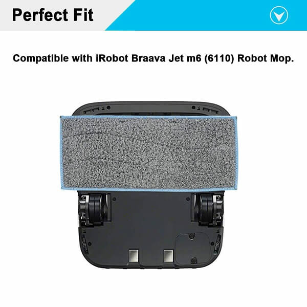 Phụ kiện lau nhà cho iRobot Braava Jet m6 3