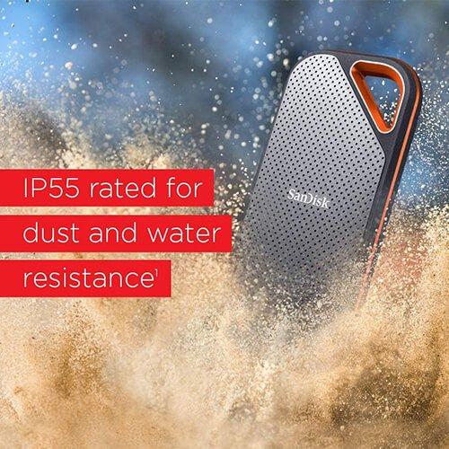 Ổ cứng di động SSD Sandisk Extreme Pro E80 1TB SDSSDE80-1T00-A25 2
