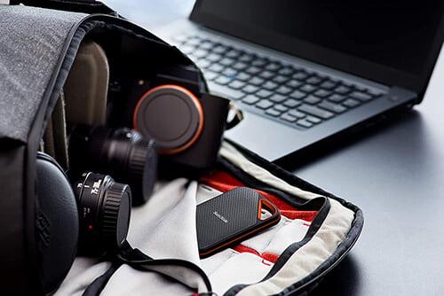 Ổ cứng di động SSD Sandisk Extreme Pro E80 500GB SDSSDE80-500G-A25 3