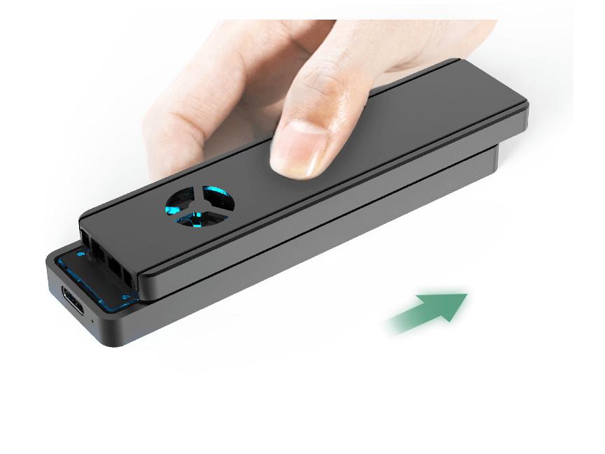 Box Kingshare SSD M2 PCIe NVMe To USB Type C 3.1 KS-CNV05 3