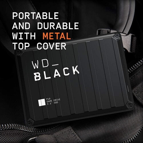 Ổ Cứng Di Động HDD WD Black P10 5TB 2.5 inch, USB 3.2 WDBA3A0050BBK 3