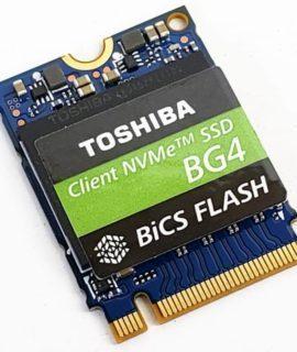SSD Toshiba BG4 512GB M2 2230 NVMe KBG40ZNS512G 1