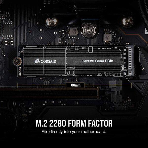SSD Corsair MP600 2TB M2 2280 PCIe NVMe CSSD-F2000GBMP600 3